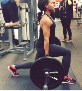spilit squat